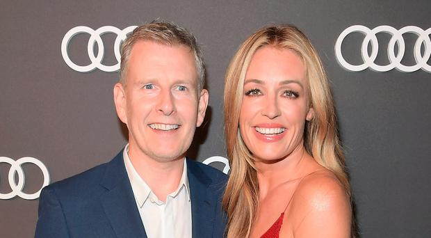Cat Deeley with her husband Patrick Kielty