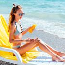 Sun alert: bathers should always protect their skin