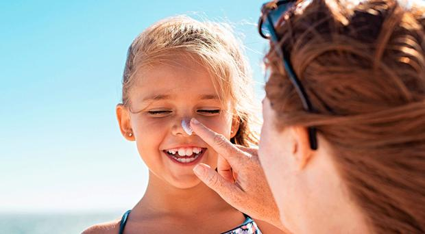 Water babies: your little ones need cream applied regularly