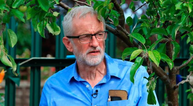 Embattled Labour leader Jeremy Corbyn