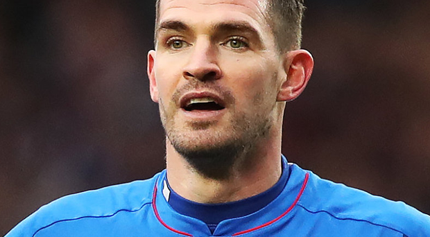 Gers striker Kyle Lafferty