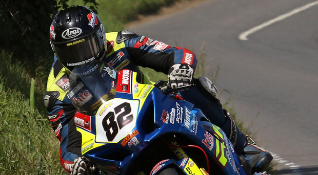 Red-hot form: Derek Sheils clinched a hat-trick of successes at Skerries and is now eyeing more of the same at Armoy