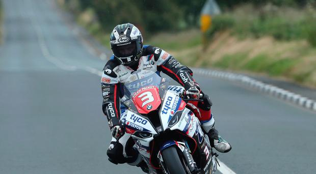 Gearing up: Michael Dunlop in practice at Southern 100