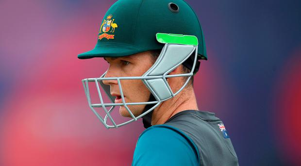 Coming in: Peter Handscomb has had the call from Australia