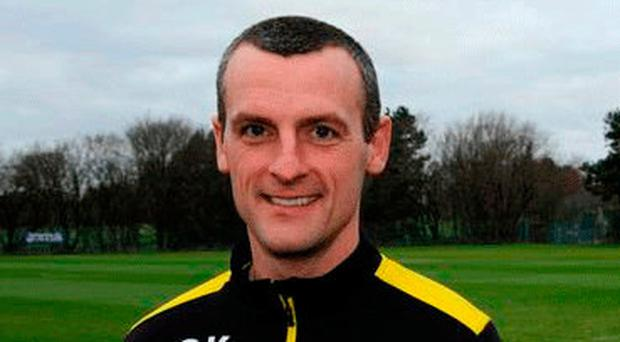 Familiar ground: Oran Kearney is back in charge of Coleraine