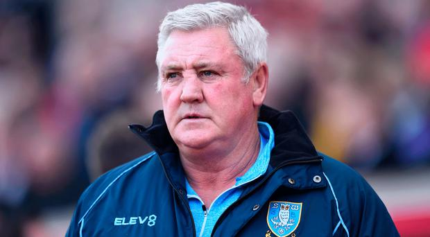 Front runner: Wednesday boss Steve Bruce is in the mix