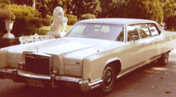 The stretch limousine that belonged to Elvis Presley (GWS Auctions via AP)