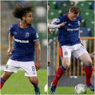 Linfield's new signings Bastien Hery and Shayne Lavery impressed at Windsor Park.