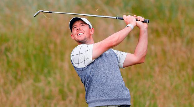 Familiar surroundings: Rory McIlroy is savouring the chance to clinch Major glory on home soil