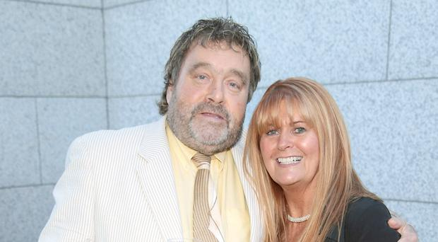 Brendan Grace and his wife Eileen Picture Brian McEvoy