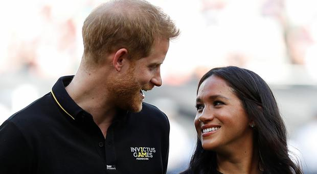 Both Harry and Meghan will be at the Lion King premiere (Peter Nicholls/PA)