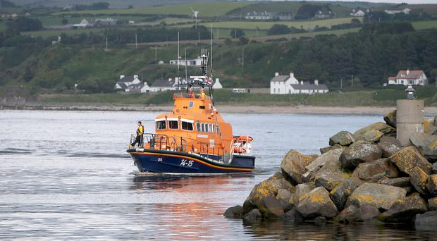 Three people were rescued from the cliffs at Fairhead, Ballycastle. Credit: Steven McAuley/McAuley Multimedia