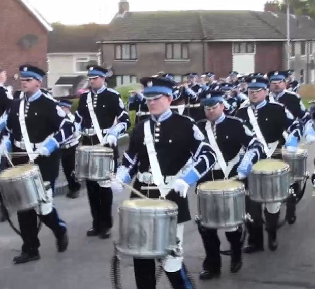 Members of the East Belfast Protestant Boys