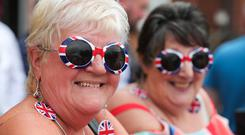 Twelfth of July parade in Holywood, County Down. Photo by Kelvin Boyes / Press Eye.