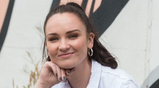 Diona Doherty at home in Derry
