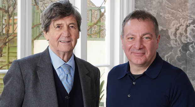 Melvyn Bragg and Line Of Duty writer Jed Mercurio