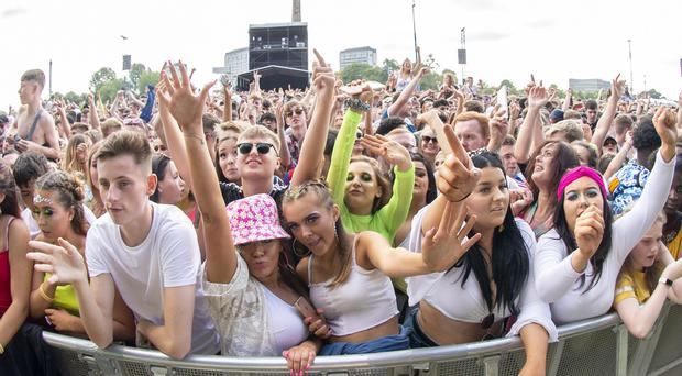 The TRNSMT festival is taking place at Glasgow Green (Lesley Martin/PA)