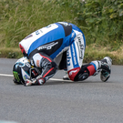 Injury blow: Michael Dunlop has suffered a broken pelvis after crashing at the Southern 100