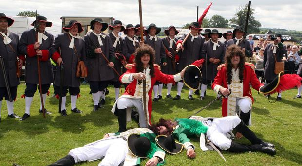 The annual Sham Fight held in Scarva. Pic Freddie Parkinson Presseye