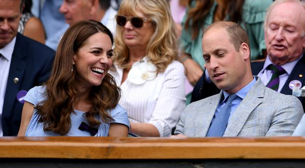 The Duke and Duchess of Cambridge (Laurence Griffiths/Pool)