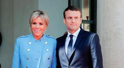 Unorthodox couple: Emmanuel Macron and wife Brigitte