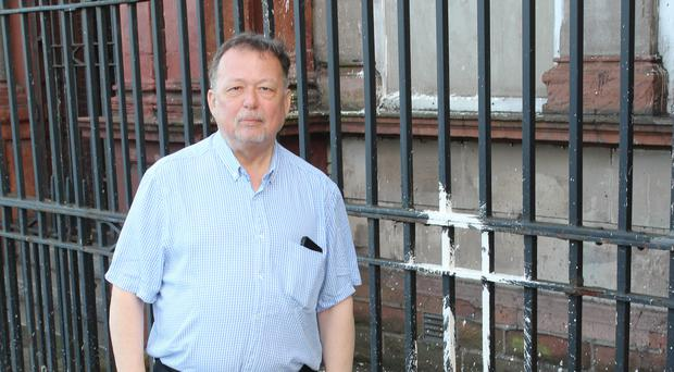 North Belfast DUP MLA William Humphrey has condemned the paint bomb attack against Belfast Orange Hall, Clifton Street, which occurred over the weekend.