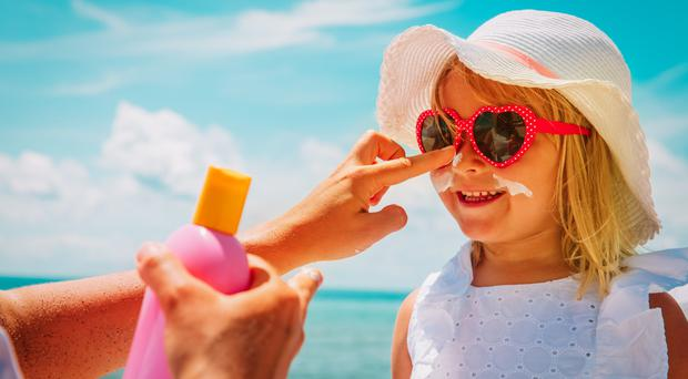Kids need extra minding from the sun on holiday
