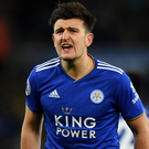 New adventure: Harry Maguire has told the Foxes that he is open to a move