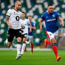 Tall order: Andy Waterworth rates Rosenborg among his strongest European opponents