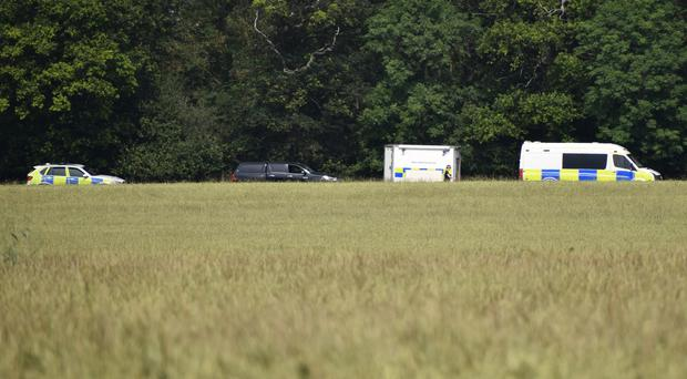 Searches of a farmer's field in connection with the murder of estate agent Suzy Lamplugh (Matthew Cooper/PA)