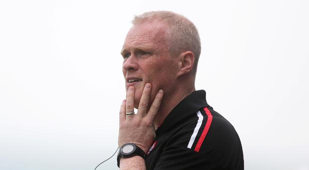 Moving on: Damian McErlain has called time on his role as Derry manager having served two years of his three-year term