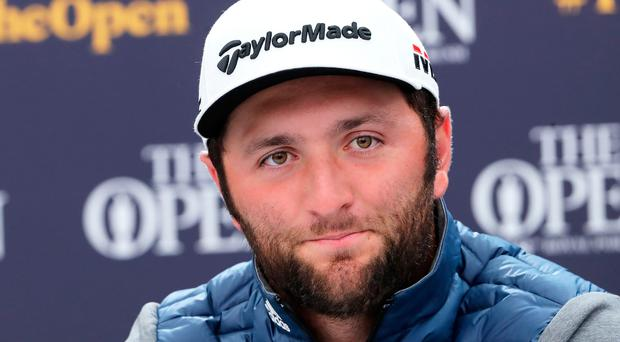 Switched up: Jon Rahm won the Irish Open in Portstewart while staying in Portrush, now he's hoping to win The Open while staying in Portstewart