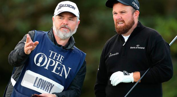 Lowry sets early target as McIlroy opens with 79 at Portrush