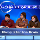 (L-R) Lili, Rob, John, Shea and Micheal of 'Doing it for the Craic'. Picture: BBC