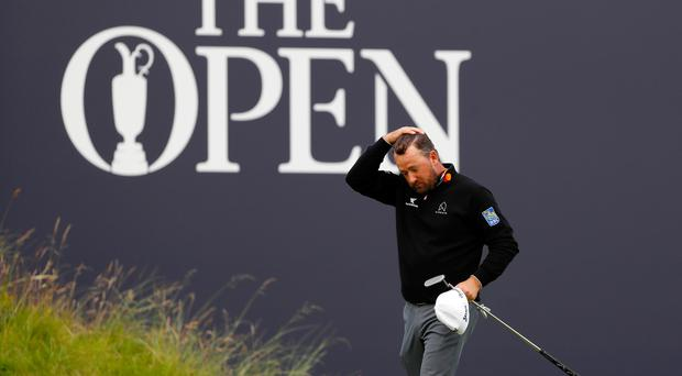 Graeme McDowell suffered one of the most heart-wrenching endings to a round of golf.