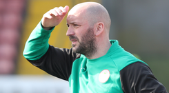 Dead end: Paddy McLaughlin saw his Reds side exit Europe