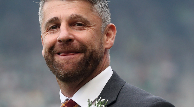 Making plans: Stephen Robinson is staying at Well