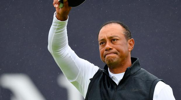 Tiger Woods has fallen in love with Royal Portrush and Northern Ireland's golfing support.