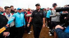 Republic Of Ireland's Shane Lowry will be the home favourite in the closing stages of The Open.