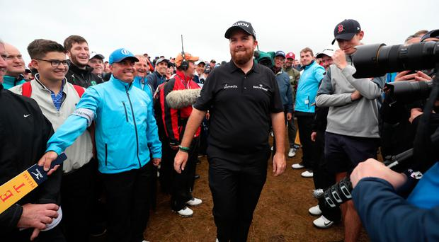 Shane Lowry 'unbelievably calm' after Open Championship at Royal Portrush