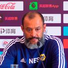 Number one: Nuno Espirito Santo speaking in Shanghai