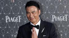 Hong Kong actor Simon Yam Vincent Yu/AP)