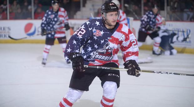 New Belfast Giants centre Brian Ward