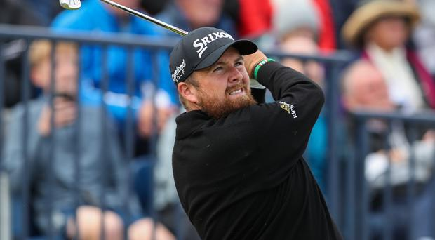 Shane Lowry will take a three-shot lead into the final round of The Open Championship at Royal Portrush