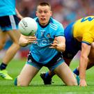 Man on: Dublin's Ciaran Kilkenny with Sean Mulloory of Roscommon