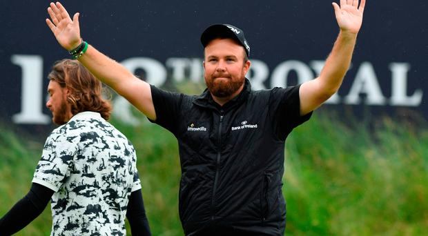 Fans' favourite: Shane Lowry's charm and stunning talent has captured the imagination of supporters