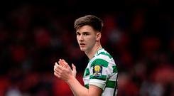 Future uncertain: Celtic have rejected two Arsenal bids so far for Scotland international Kieran Tierney