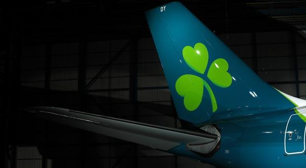 Aer Lingus last night issued an apology to passengers after a flight due to land at Belfast City Airport was diverted at the last minute to Belfast International. (Brian Lawless/PA)