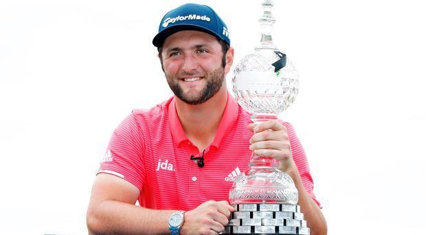 Jon Rahm has won two of the last three Irish Opens but could face a huge decision if the tournament's date remains the same next year.