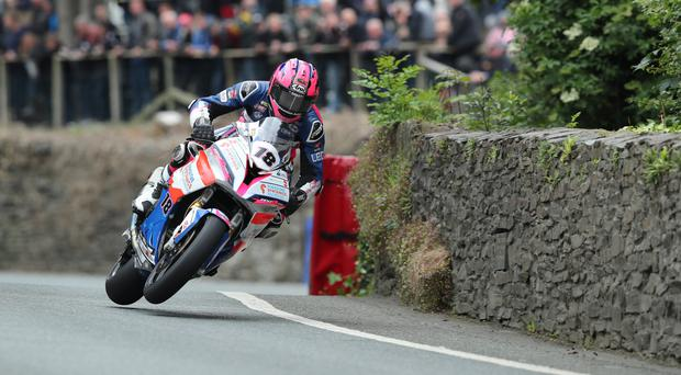 Road warrior: Davey Todd is relishing his Dundrod return